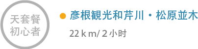 彥根観光和芹川・松原並木