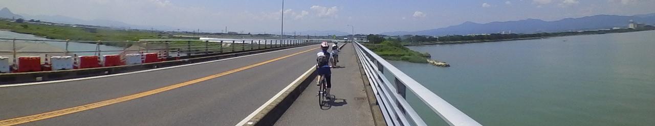 琵琶湖大橋ショートカットビワイチ